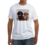 Valuable Pet Lesson #4 Fitted T-Shirt