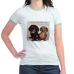 Valuable Pet Lesson #4 Jr. Ringer T-Shirt