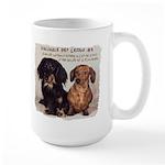 Valuable Pet Lesson #4 Large Mug