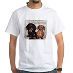 Valuable Pet Lesson #4 White T-Shirt