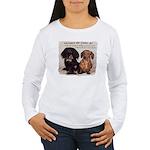 Valuable Pet Lesson #4 Women's Long Sleeve T-Shirt