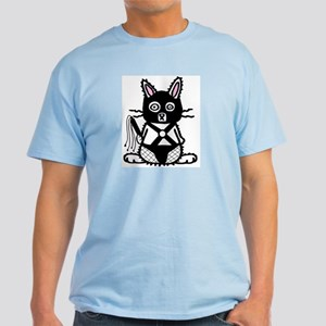 BDSM Bunny Light Blue T-Shirt