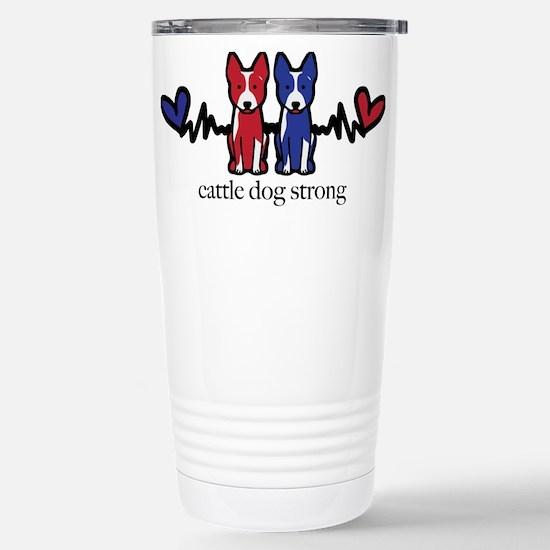 cattle dog strong Travel Mug