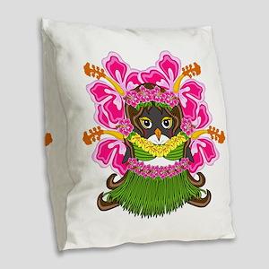 Hawaiiguin Burlap Throw Pillow