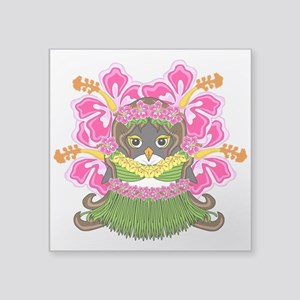 "Hawaiiguin Square Sticker 3"" x 3"""