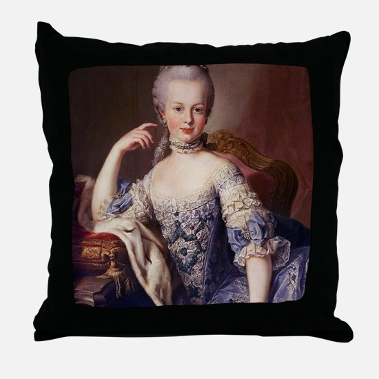 MARIEipad_case Throw Pillow
