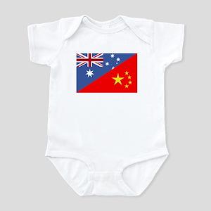Adopt Flag Aus Infant Bodysuit