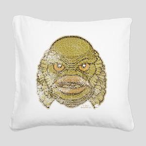 05_Creature Square Canvas Pillow
