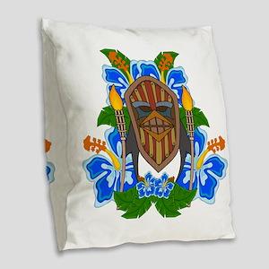 Tikiguin Burlap Throw Pillow