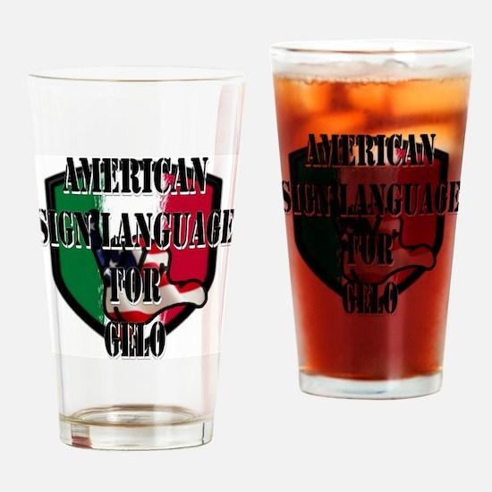 Gelo Drinking Glass
