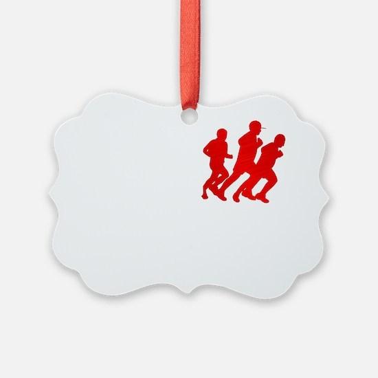 WE RUN PR Ornament