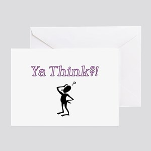 Ya Think?! Greeting Cards (Pk of 10)