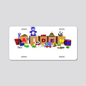 Aiden_Banner Aluminum License Plate