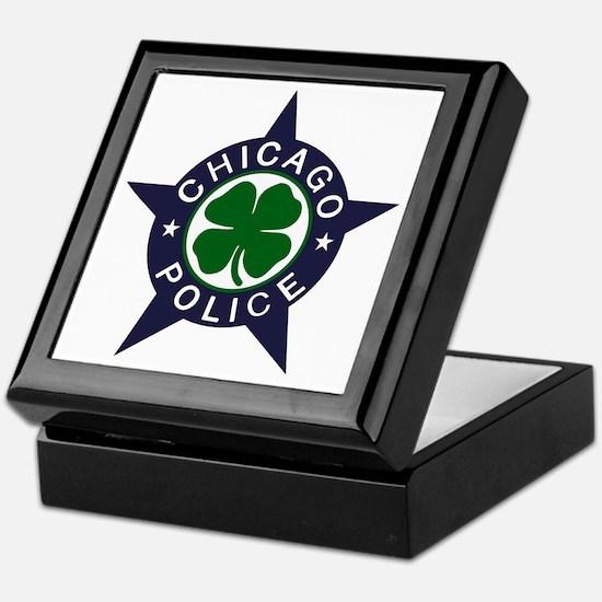 Chicago Police Irish Keepsake Box