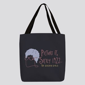 Golden Girls Picture It Polyester Tote Bag