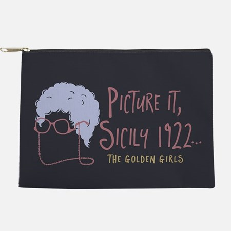 Golden Girls Picture It Makeup Bag