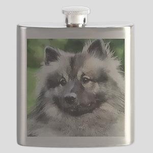 keeshond calendar Flask