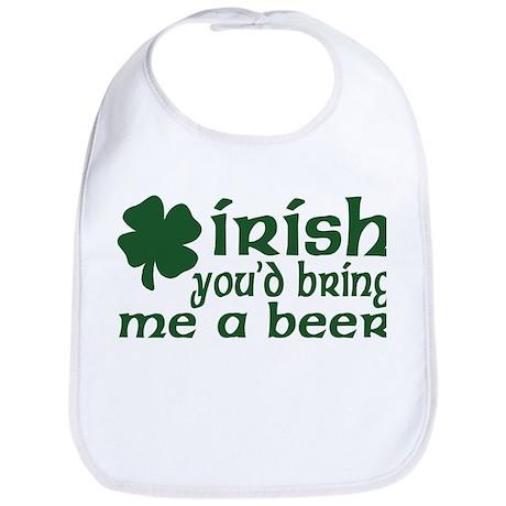 Irish Bring Me a Beer Bib