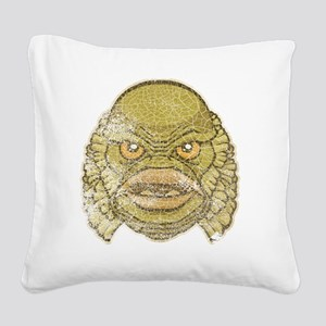 12_Creature Square Canvas Pillow