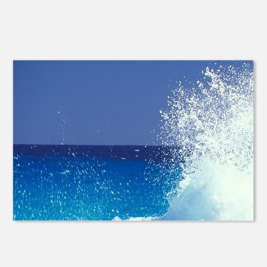 Caribbean, Bahamas, Long  Postcards (Package of 8)