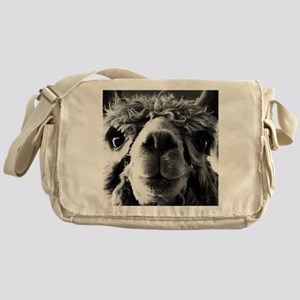11x11 say cheese Messenger Bag