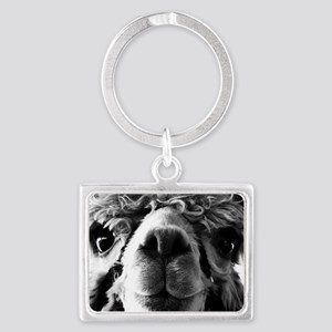 11x11 say cheese Landscape Keychain