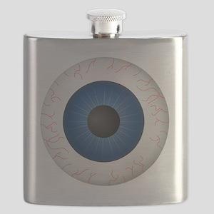 Blue Eye Flask