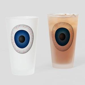 Blue Eye Drinking Glass