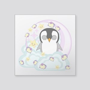 "Sleepguin Square Sticker 3"" x 3"""
