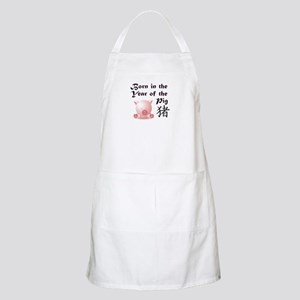 Year of the Pig BBQ Apron
