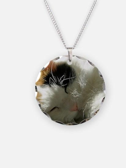 Sleeping Kitty Necklace