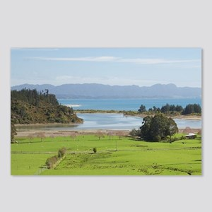 View over Farmland from T Postcards (Package of 8)