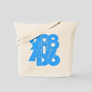 sky-bluelbl-wt Tote Bag