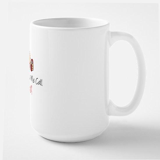 Dont Make Me Call Vovo Large Mug