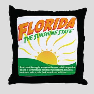 sunshinestatedrk Throw Pillow