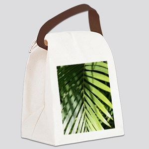 palmleafipadsleeve Canvas Lunch Bag