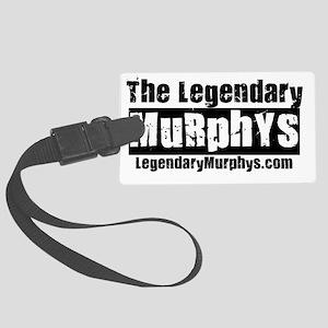 The Legendary Murphys Logo Websi Large Luggage Tag