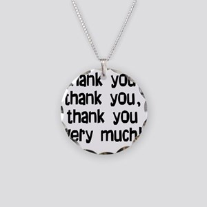 thankyouthankyou Necklace Circle Charm