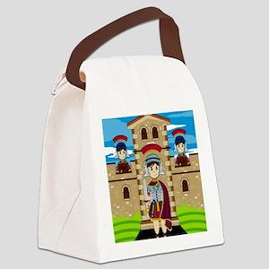 Roman Pad22 Canvas Lunch Bag