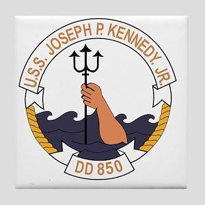 DD-850 USS JOSEPH P KENNEDY JR Destro Tile Coaster
