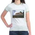 Dog tired Jr. Ringer T-Shirt