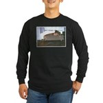 Dog tired Long Sleeve Dark T-Shirt