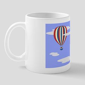 Hot Air Balloon Purse Mug