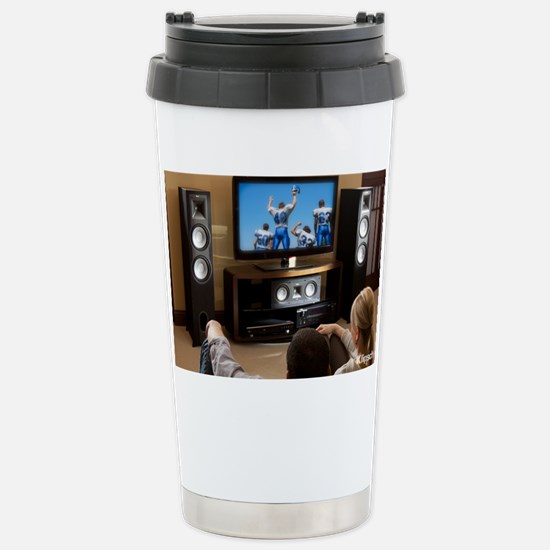 Klipsch Icon Poster Stainless Steel Travel Mug