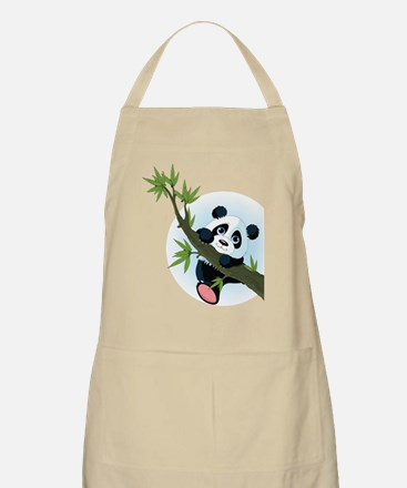 Panda on Tree Apron