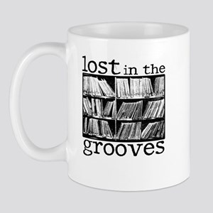 Lost in the Grooves Mugs