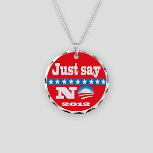 sayno2012b Necklace Circle Charm