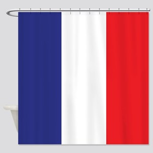 Flag of France Shower Curtain