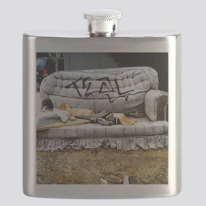 Graffiti Couch Flask