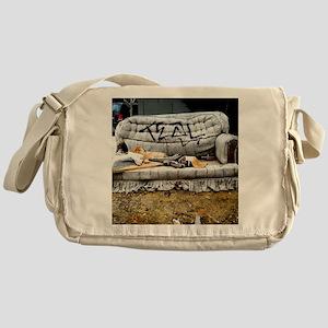 Graffiti Couch Messenger Bag